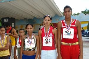 Women place winners